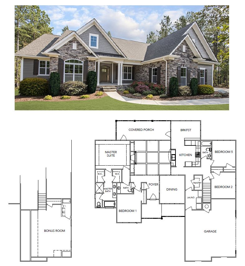 Currahee Home Builders Floor plans